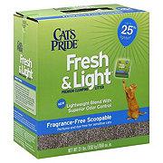 Cat's Pride Fresh & Light Fragrance Free Multi Scoop Cat Litter