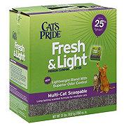 Cat's Pride Fresh & Light Scented Multi Scoop Cat Litter