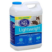 Cat's Pride Lightweight Unscented Scoopable Litter