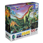 Ceaco 100 PC Ready Set Glow In the Dark Puzzle