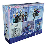 Ceaco Disney 5 In 1 Multipack Puzzles