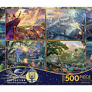 Ceaco Kinkade 4 In 1 Disney Dreams Puzzles