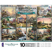 Ceaco Thomas Kinkade Puzzle 10 in 1