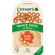 Cedar's Classic Original Hommus With Pretzels Snack Pack