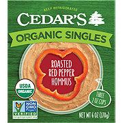 Cedar's Organic Hommus Roasted Red Pepper