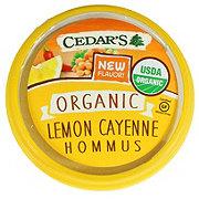 Cedar's Organic Lemon Cayenne Hommus