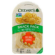 Cedar's Original With Hommus Chips Snack Pack