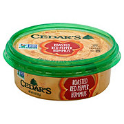 Cedar's Roasted Red Pepper Hommus