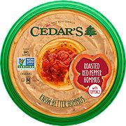 Cedar's Roasted Red Pepper Hommus