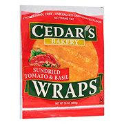 Cedar's Sundried Tomato & Basil Wraps