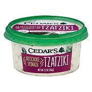 Cedar's Tzatziki Artichoke Spinach Dip