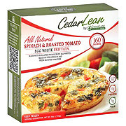 CedarLane Cedar Lean Spinach & Roasted Tomato Egg White Fritatta