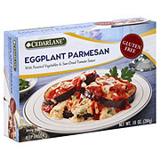 CedarLane Eggplant Parmesan With Roasted Vegetables & Sun-Dried Tomato Sauce