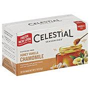 Celestial Seasonings Caffeine Free Honey Vanilla Chamomile Herbal Tea Bags