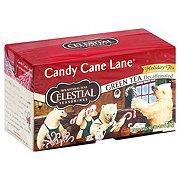 Celestial Seasonings Decaffeinated Holiday Candy Cane Lane Green Tea Bags