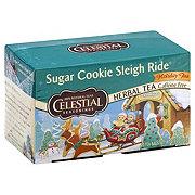 Celestial Seasonings Holiday Sugar Cookie Sleigh Ride Herbal Tea Bags