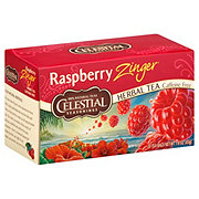 Celestial Seasonings Raspberry Zinger Herbal Tea Bags
