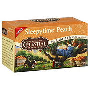 Celestial Seasonings Sleepytime Peach Caffeine Free Herbal Tea Bags