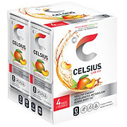 Celsius Peach Mango Green Tea 4 pk