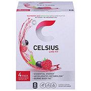 Celsius Raspberry Acai Green Tea 4 pk