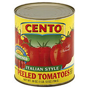 Cento Italian Style Whole Peeled Tomatoes with Basil Leaf