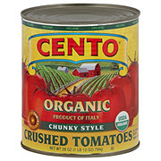 Cento Organic Chunky Style Crushed Tomatoes in Puree