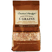 Central Market 5 Grains Quick Cook Grains