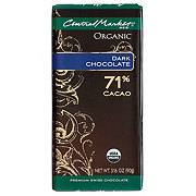 Central Market 71% Organic Cacao Dark Chocolate