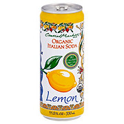 Central Market 90 Calorie Organic Italian Soda Lemon