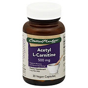 Central Market Acetyl L-Carnitine 500 Mg Vegan Capsules