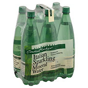 Central Market All Natural Sparkling Water 33.8 oz Bottles