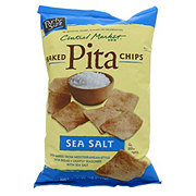 Central Market Baked Sea Salt Pita Chips