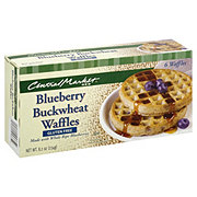 Central Market Blueberry Buckwheat Waffles