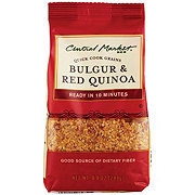 Central Market Bulgar And Red Quinoa Quick Cook Grains