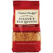 Central Market Bulgar & Red Quinoa Quick Cook Grains