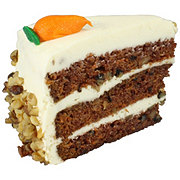 Central Market Carrot Cake Slice