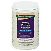 CENTRAL MARKET Central Market Whey Protein Powder Vanilla