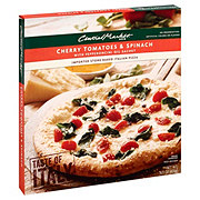 Central Market Cherry Tomatoes & Spinach with Pepperoncini Oil Sachet Pizza
