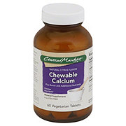Central Market Chewable Calcium Vegetarian Tablets Natural Citrus Flavor