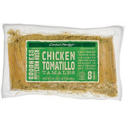 Central Market Chicken and Tomatillo Tamales