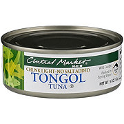 Central Market Chunk Light Tongol Tuna No Salt Added
