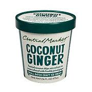 Central Market Coconut Ginger Ice Cream