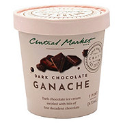 Central Market Dark Chocolate Ganache Ice Cream