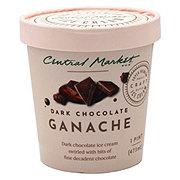 Central Market Dark Chocolate Ganache Ice Cream