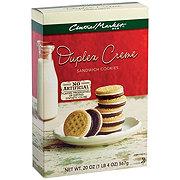 Central Market Duplex Creme Sandwich Cookies