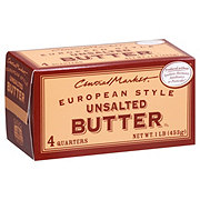 Central Market European Style Unsalted Butter