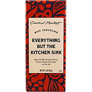 Central Market Everything But the Kitchen Sink Chocolate Bar
