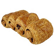 Central Market French Butter Chocolate Croissants 4 Count