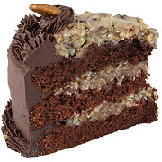 Central Market German Chocolate Cake Slice