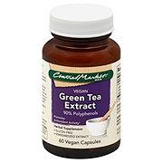 Central Market Green Tea Extract 90% Polyphenols Vegan Capsules